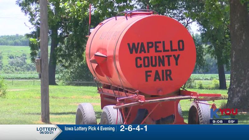 The president of the Fair Board says they saw a larger crowd than usual following a canceled...