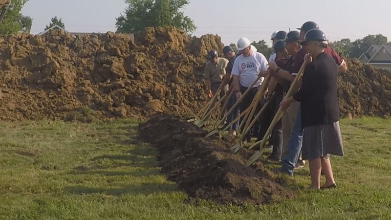The year-long housing project will build a house at 10 Traxler Drive. Indian Hills Community...