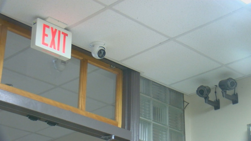 The district is adding security cameras to the Ottumwa High School and Evans Middle School....
