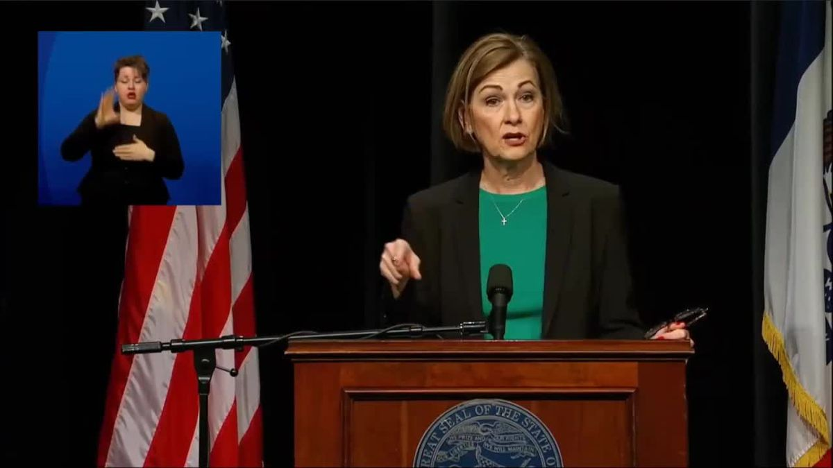 Governor Reynolds encourages all Iowans to get vaccinated as eligibility opens up in early April.