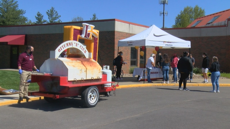 The barbeque-laded event celebrates local students' enrollment in the college, as Indian Hills...