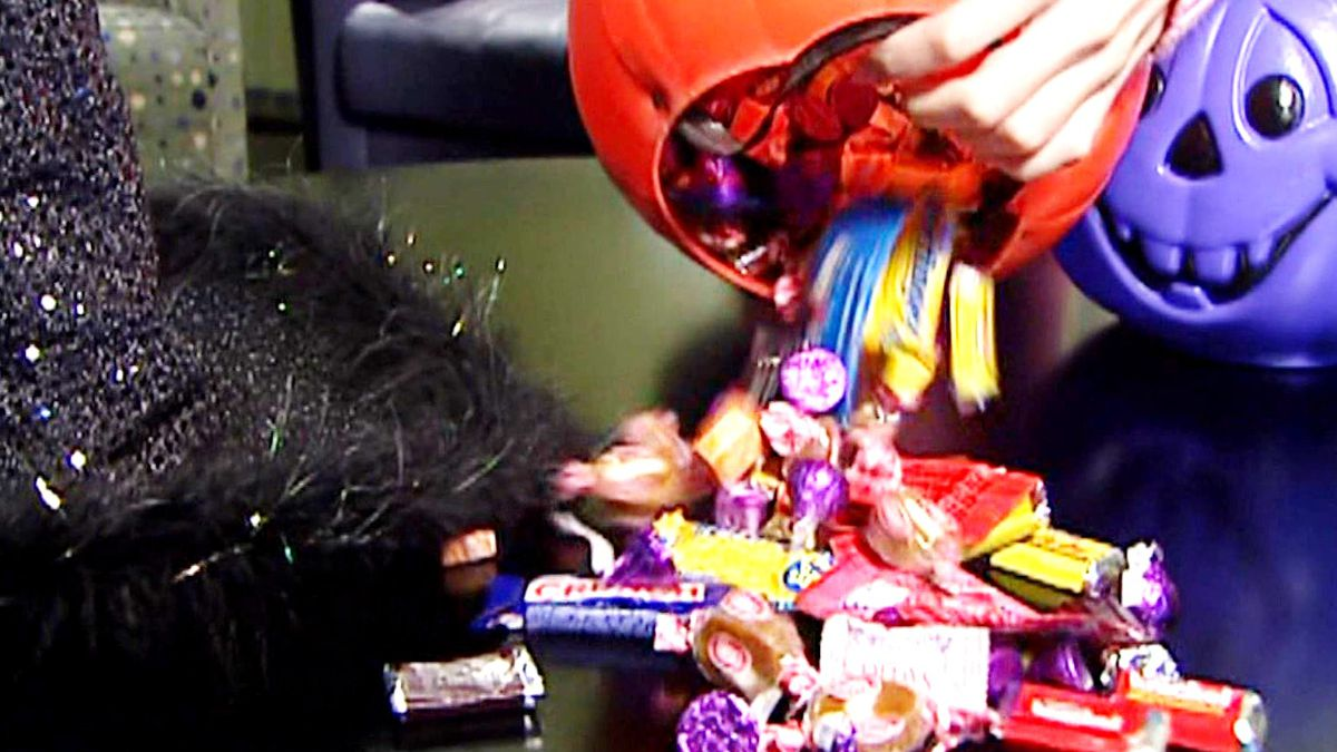 Halloween candy is also arriving in some stores earlier this year because of the coronavirus pandemic.