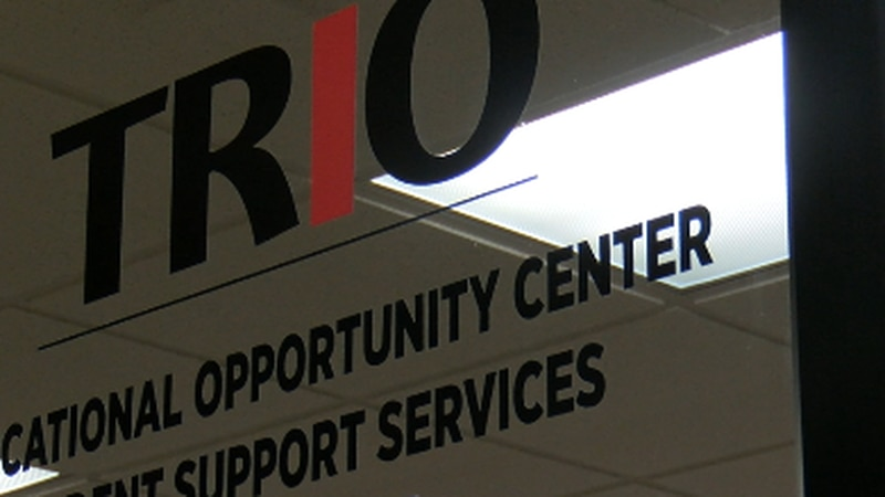 Students who need help with school can try the TRIO Program.
