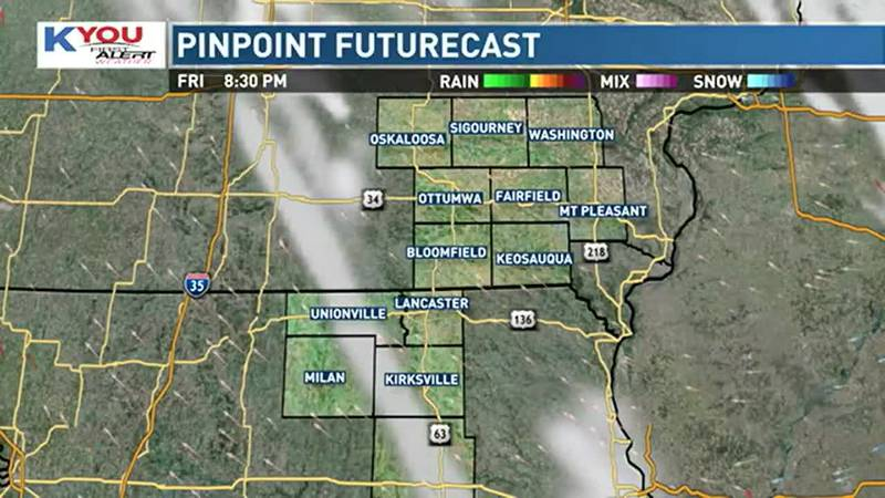 Look for scattered showers to continue into the overnight hours, coming to an end by early...