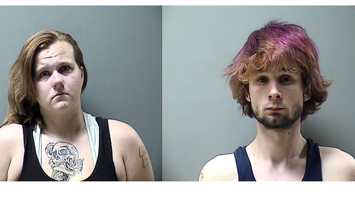 Ottumwa Police arrested 28 year old Ashley Lindley-Moser and her boyfriend 24 year old Donald...