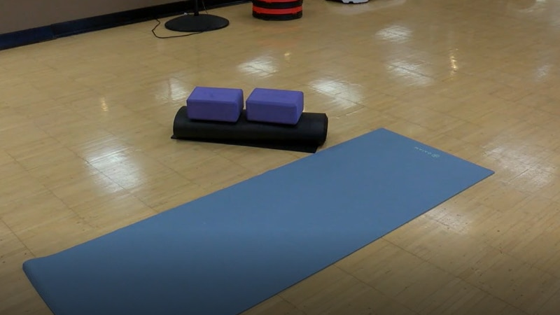 Cancer patients can now take a yoga class at the Y to help rid of stress and and pain.