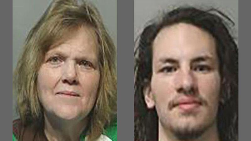 Deborah Sandoval, left, 54, of Des Moines, and Salvador Sandoval, Jr., right, 23, of Ankeny.