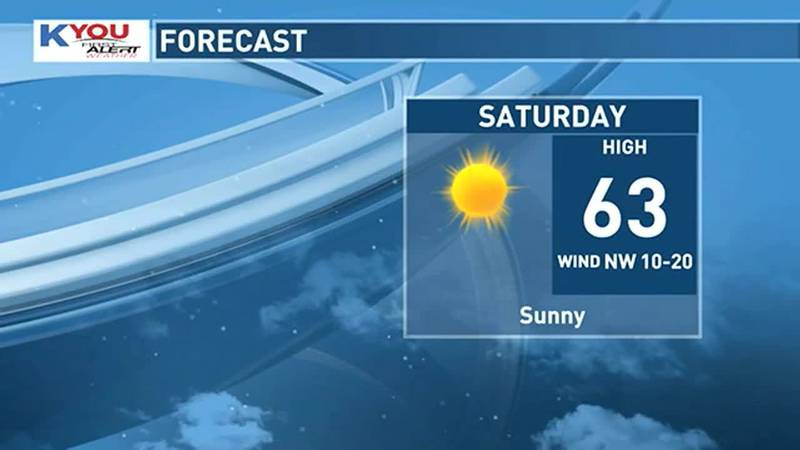 With dry air in place this weekend, we should see fabulous fall weather for outdoor activities.