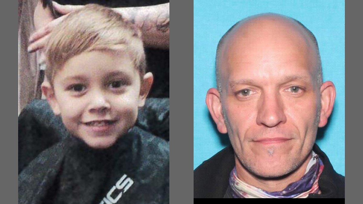 Abel Lee Keil, 5, left, and Jeremy John Keil, 46, right.