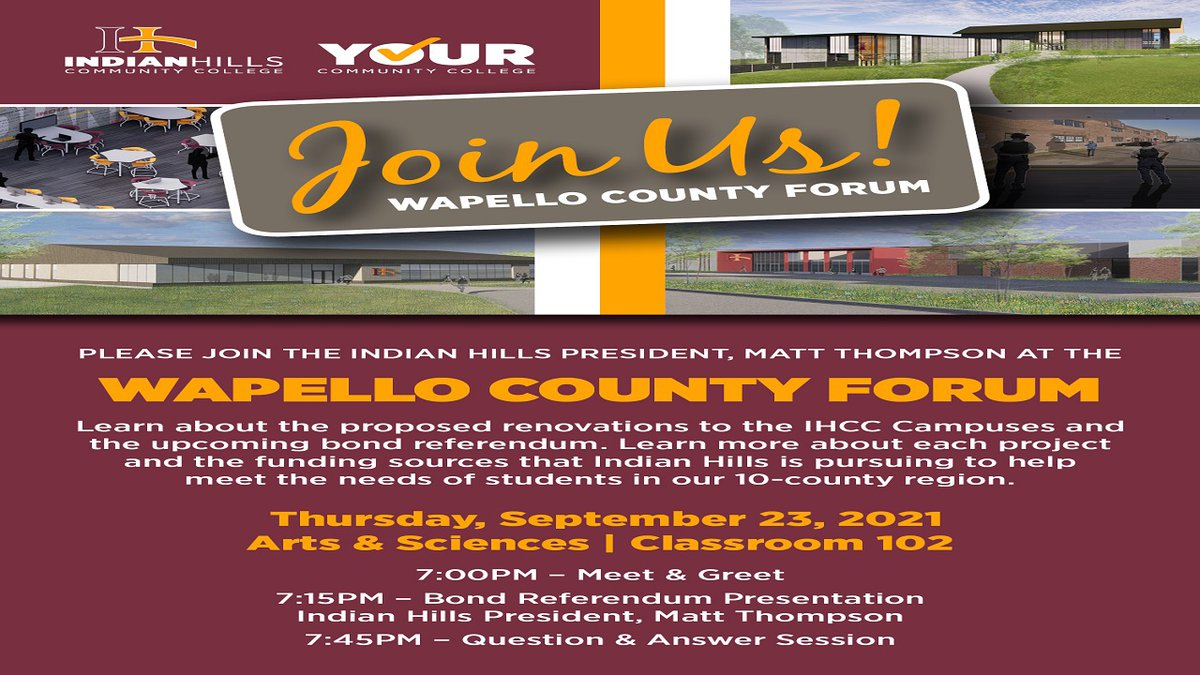 IHCC President to discuss upcoming projects and the bond referendum