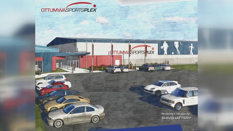 There are plans to construct a 60,000 square-foot sports complex in Ottumwa, but when that new...