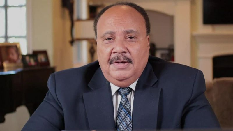 Martin Luther King III talks about his father's legacy.