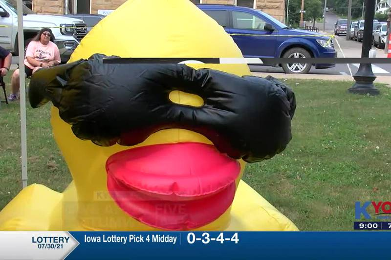 Duck Race reps were at the Live at Five prompting the event