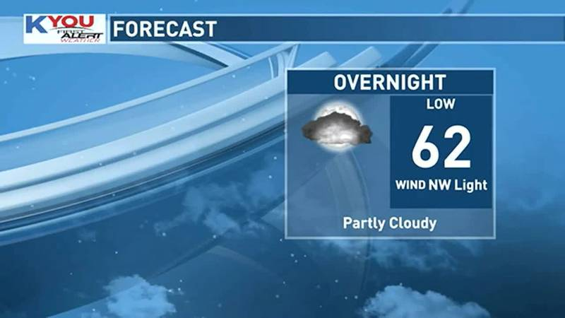 Cool tonight, but warmer air is on the way.