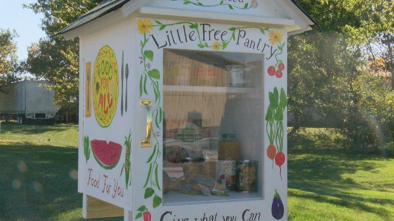 The sixth Little Free Pantry comes to Fairfield with a guarantee of ease and food to those who...