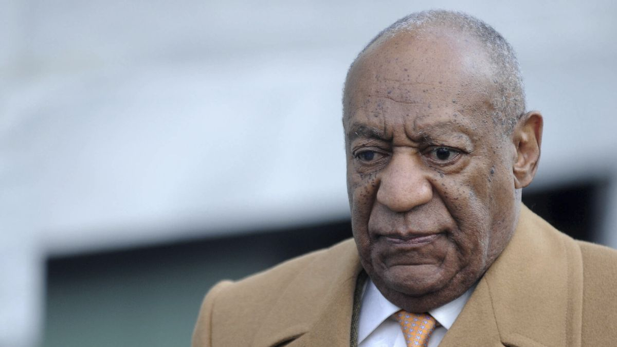 This Nov. 25, 2019 file photo shows Bill Cosby in Norristown, Pennsylvania.