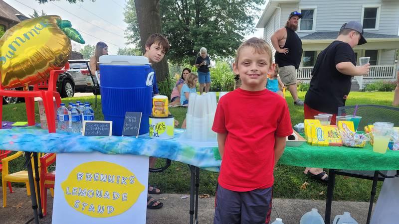 Brennik's lemonade stand in Ottumwa, IA.