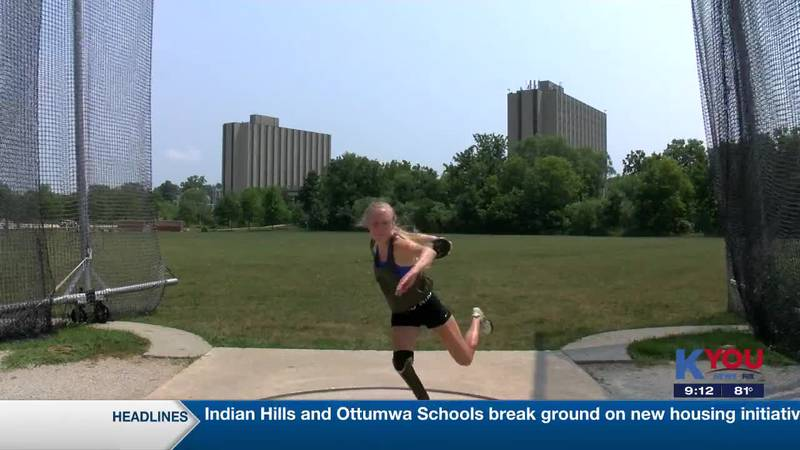 Paralympic athlete preps for upcoming games