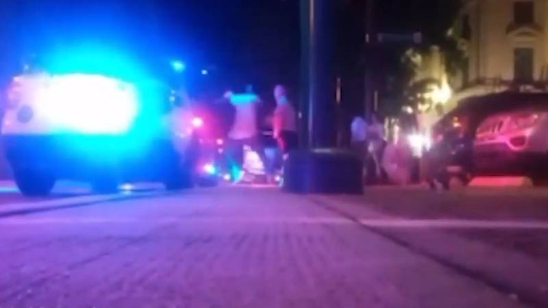 Authorities said an attack against Orlando police officers was livestreamed on Facebook.