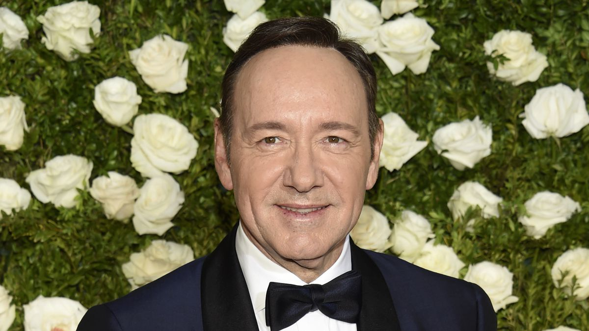 In this June 11, 2017 file photo, Kevin Spacey arrives at the 71st annual Tony Awards at Radio...
