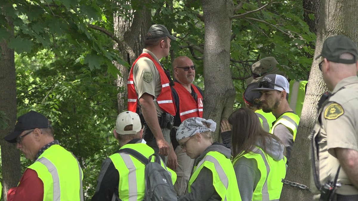 More than 350 volunteers, along with 125 law enforcement officers and first responders gathered...