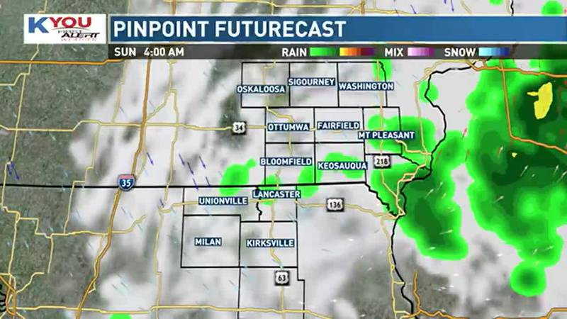 Rain chances return to the forecast this evening, lasting throughout the weekend as a boundary...