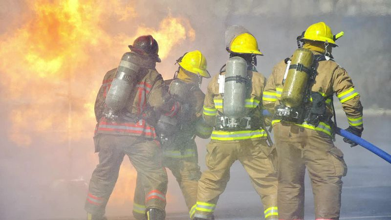 Training for firefighters in the surrounding area of Fairfield