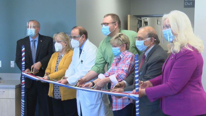 On Thursday, a ribbon cutting ceremony was held to celebrate the opening of a new Veteran's...