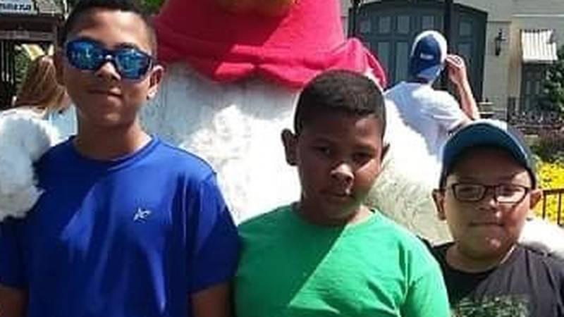 The Jaramillo family involved in accident at Adventureland park.