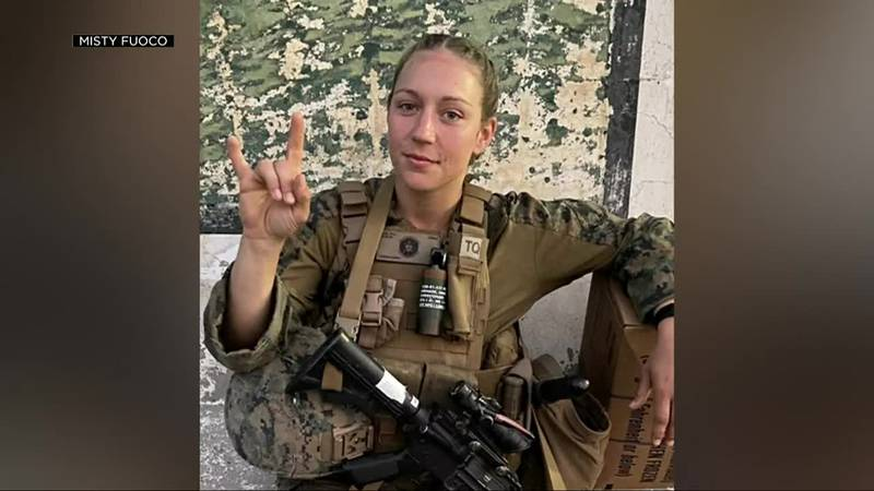 Friends and family are remembering 23-year-old Marine Sgt. Nicole Gee as a hero. She was among...