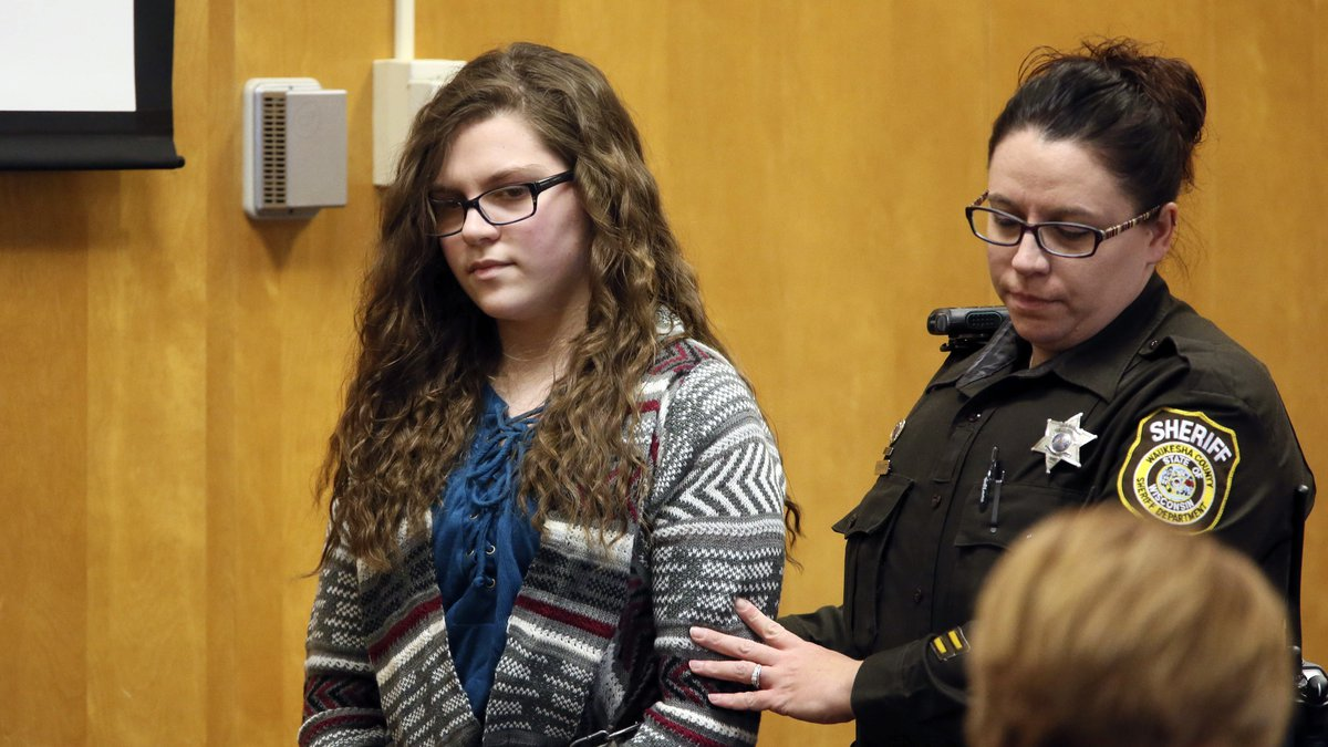 In this Dec. 21, 2017, file photo, Anissa Weier, one of two Wisconsin girls who tried to kill a...