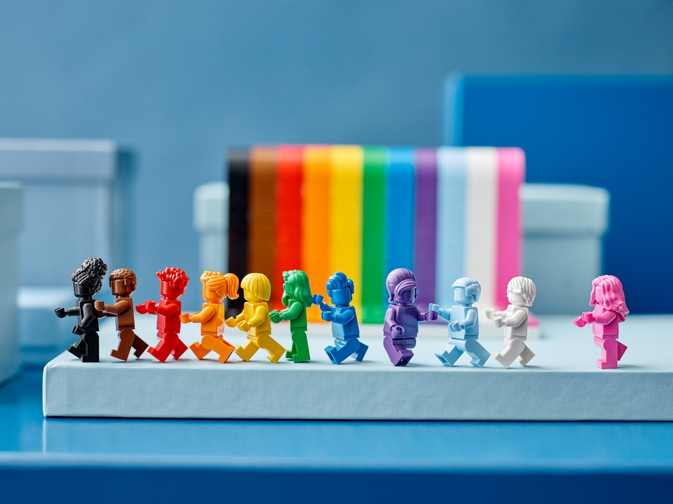 Lego is releasing a set in June to celebrate Pride Month.