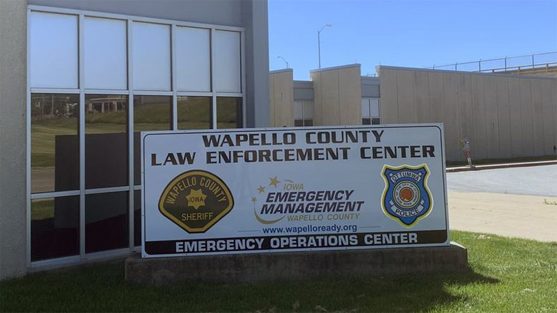 The Wapello County Law Enforcement Center.