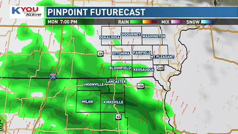 Expect a quiet morning and afternoon, with partly to mostly cloudy skies. Highs will be...