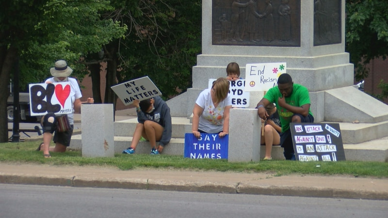 Ottumwans for Racial Justice hold rally marking one year anniversary of Floyd death