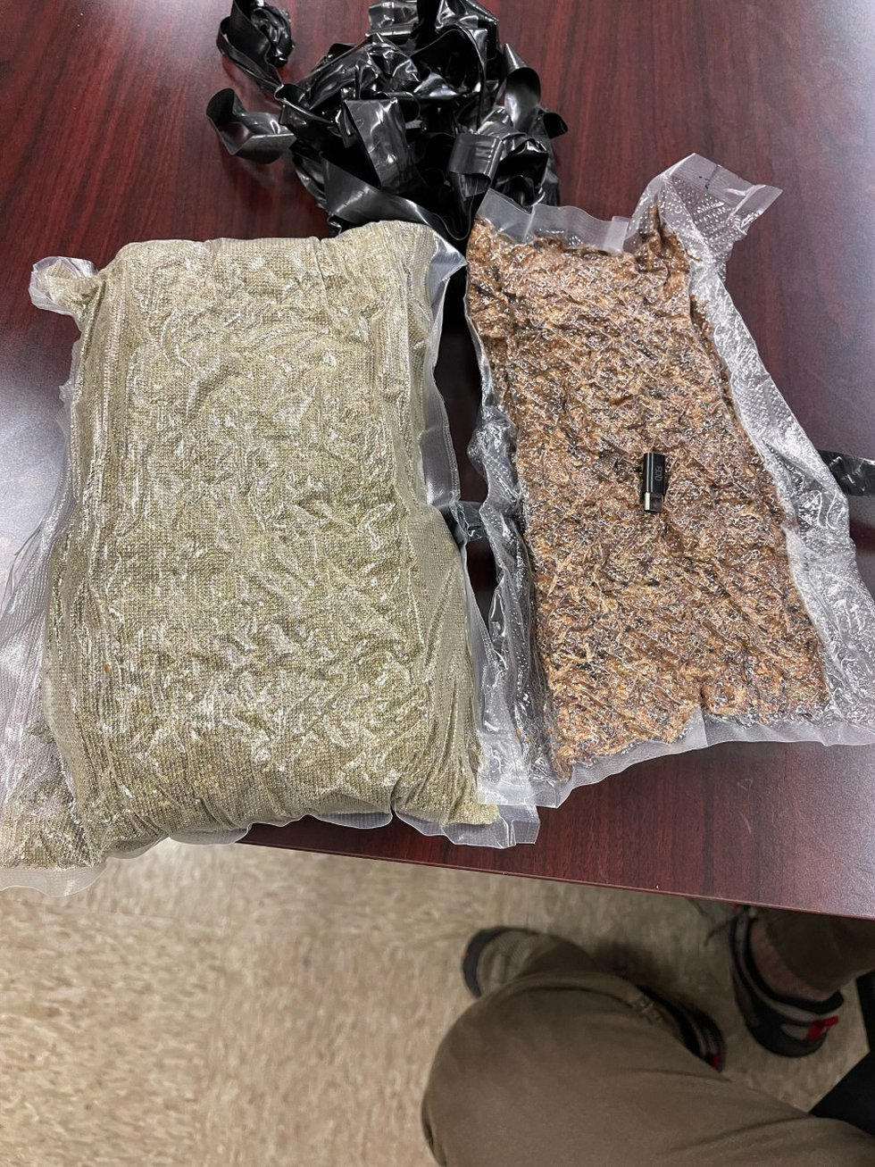 The Brunswick County Sheriff's Office said drugs that were intended for a correctional facility...