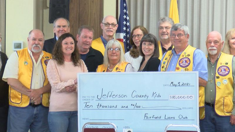 In celebration of its 100th anniversary, the Fairfield Lions Club is donating $10,000 towards...