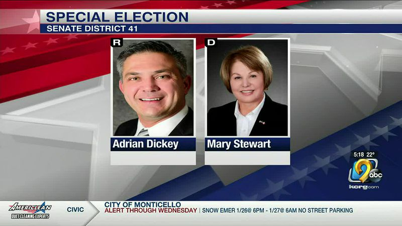 Special election on Tuesday