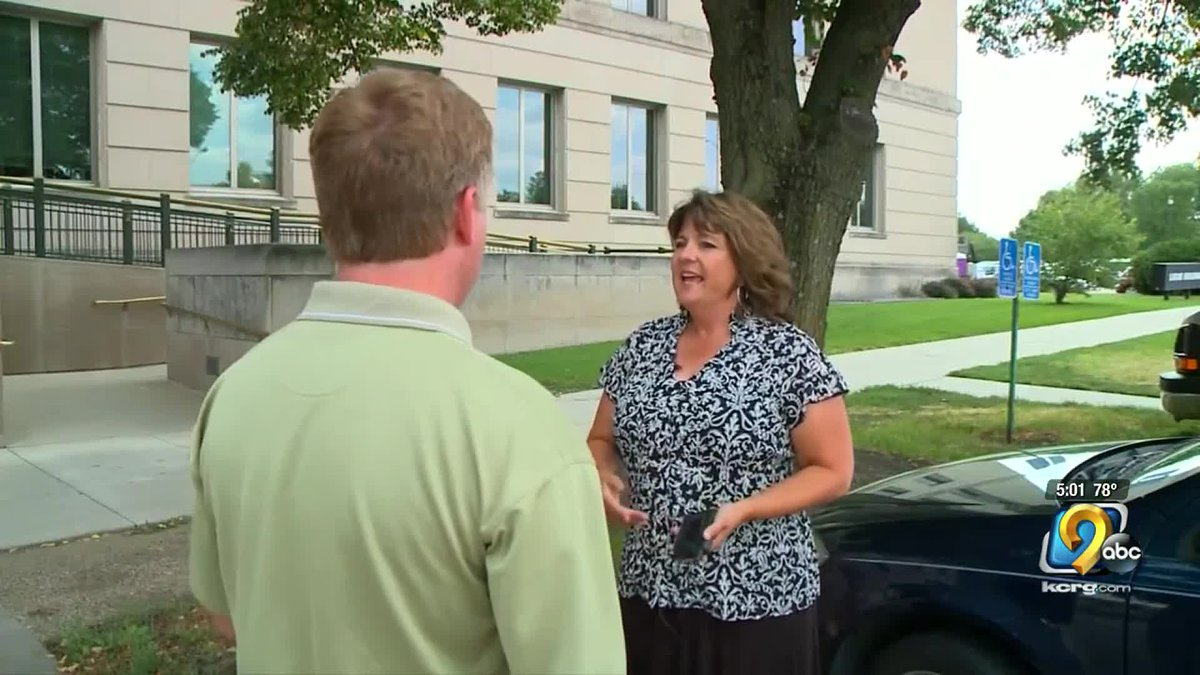 The former Iowa Department of Public Health communications filed a lawsuit against the state...