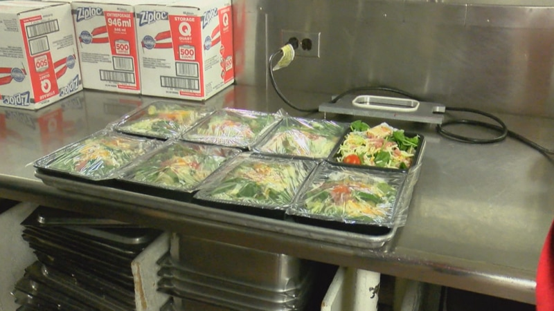 The program is looking to serve over 150,000 lunches to low-income local students through the...